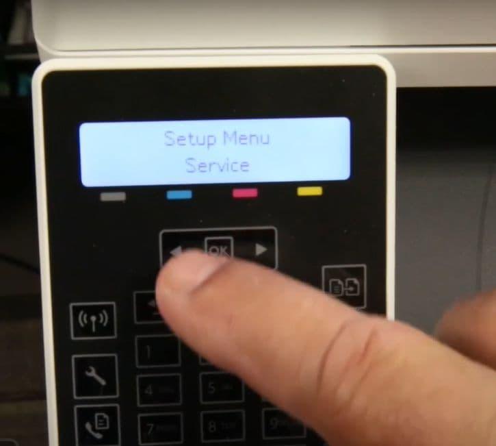 actualizar firmware de impresora hp2