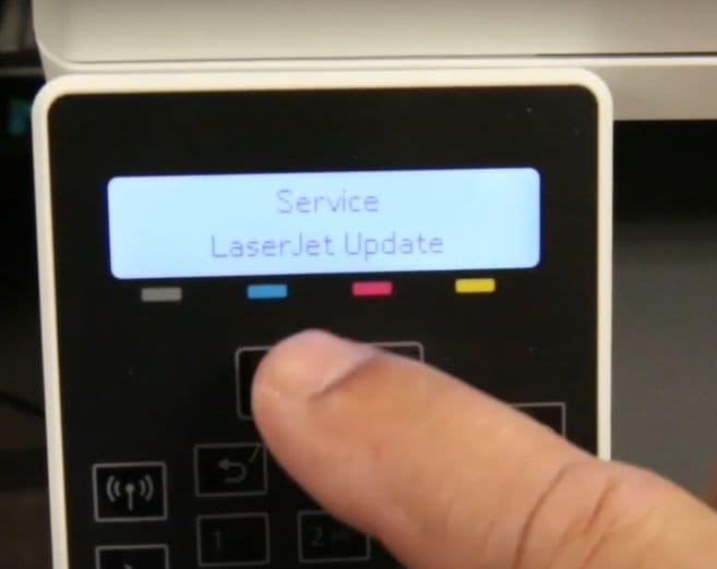 actualizar firmware de impresora hp3