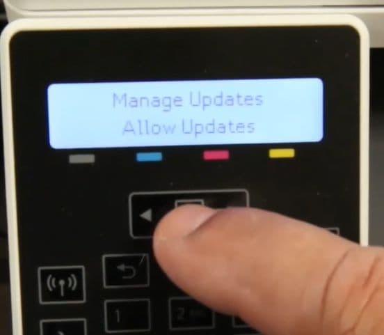 actualizar firmware de impresora hp